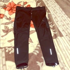 Nike large running tights